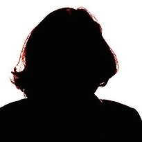 Womans silhouette